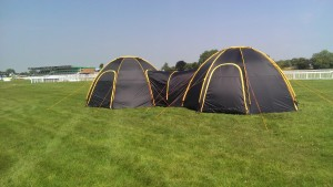 Twin PODS set up at Lfest 2013